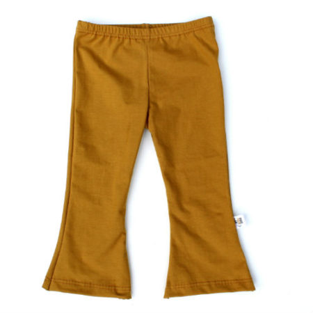 Flared pants vintage oker