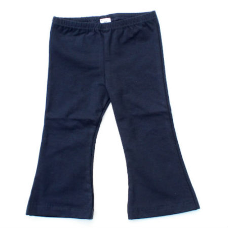 Flared pants Donkerblauw