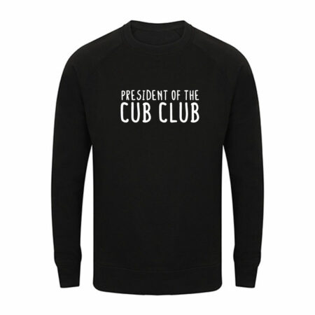 Heren - president of the cub club sweater