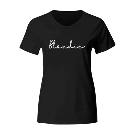 Dames - blondie T-shirt